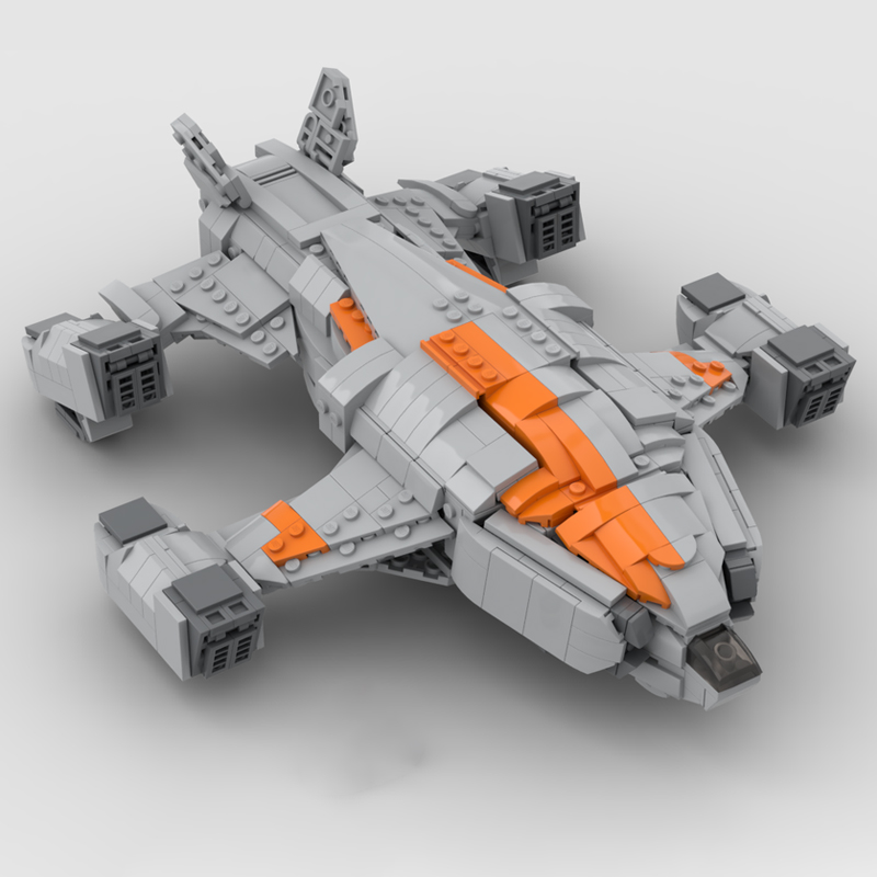 Chieftain Elite Dangerous Space MOC-68713 by TheRealBeef1213 with 1171 pieces
