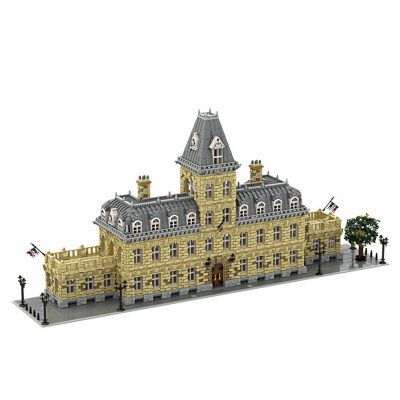 French Palace 10th Anniversary Edition Modular Building MOC-70573 by STEBRICK with 23399 pieces