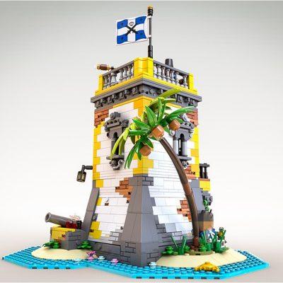Creator MOC-71657 Sabre Island Anno Domini 2021 by SleeplessNight MOCBRICKLAND