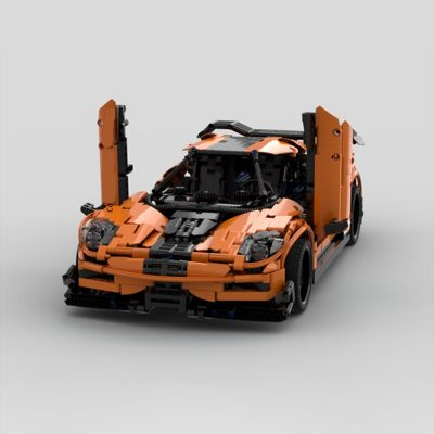 Koenigsegg Agera One Technic MOC-74908 by Furchtis with 2216 pieces