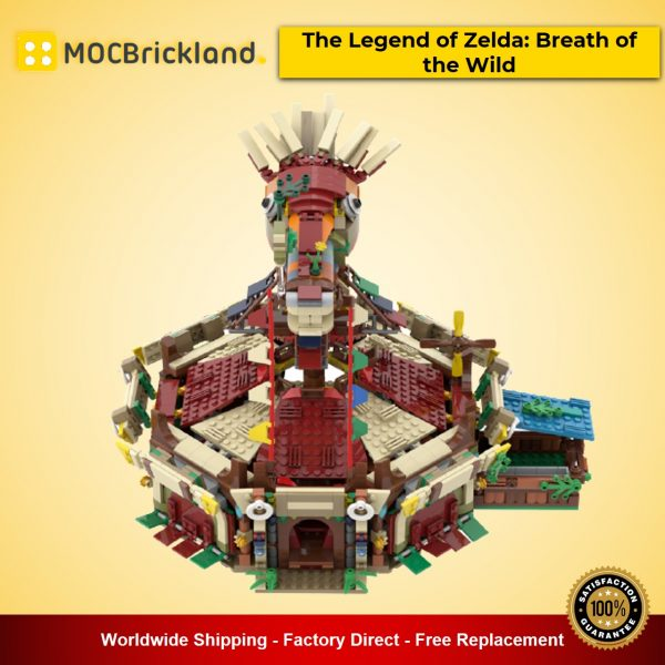 The Legend of Zelda: Breath of the Wild MOC-90088 Creator With 2015 Pieces