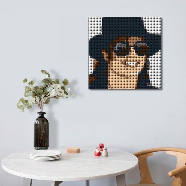 Michael Jackson Pixel Art Creator MOC-90111 WITH 2304 PIECES