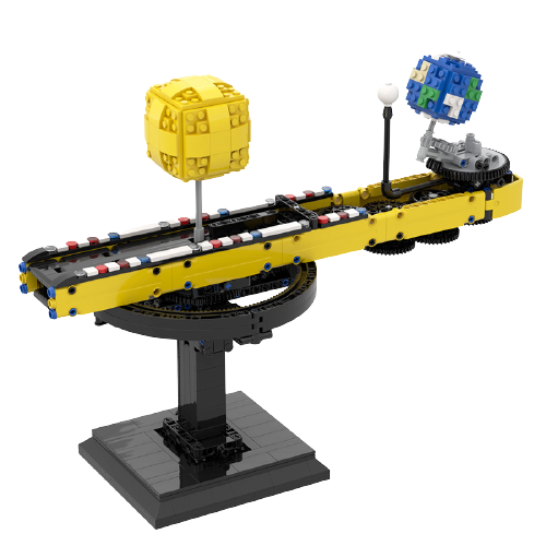 Sun-Earth relationship MOC-90118 Creator With 699 Pieces