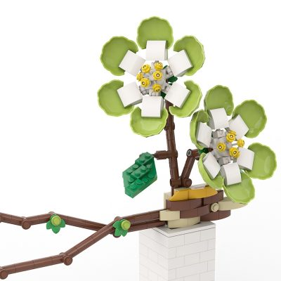 Phalaenopsis MOC-90119 Creator With 339 Pieces