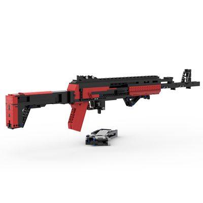 AK-12 Assault Rifle MOC-90125 with 188 Pieces