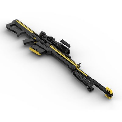 Barrett Sniper Riffle Military MOC-90162 with 2000 pieces