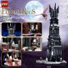 MOC-33442 Movie The Lord of the Rings: Oshankhtar Tower of Orthanc By LegoMocLoc With 4059 Pieces