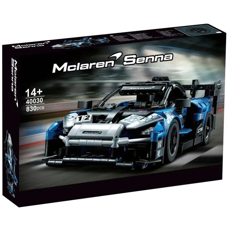 McLaren Senna GTR Compatible 42123 MOCBRICKLAND 40030 Technic 830 Pieces