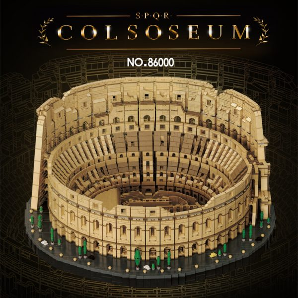 Colosseum Compatible 10276 MOCBRICKLAND 86000 Modular Building With 9036 Pieces