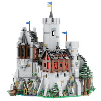 Löwenstein Castle – Official Expansion MODULAR BUILDING MOC-24877 WITH 1627 PIECES