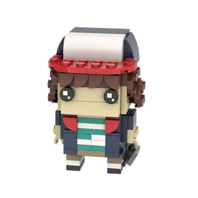 Stranger Things Brickheadz: Dustin MOVIE MOC-26711 WITH 110 PIECES