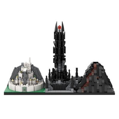 The Lord of the Rings: The Return of the King MOVIE MOC-29781 WITH 1049 PIECES