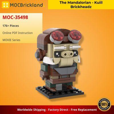 The Mandalorian – Kuiil Brickheadz MOVIE MOC-35498 WITH 176 PIECES
