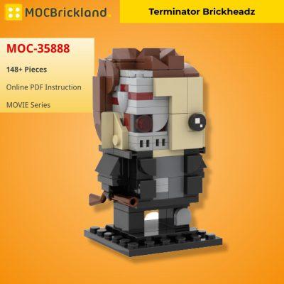 Terminator Brickheadz MOVIE MOC-35888 WITH 148 PIECES