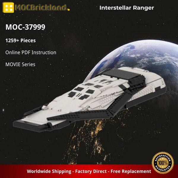 Interstellar Ranger MOVIE MOC-37999 WITH 1259 PIECES