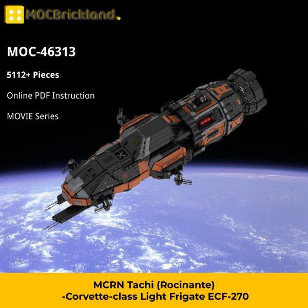 MCRN Tachi (Rocinante)-Corvette-class Light Frigate ECF-270 MOVIE MOC-46313 WITH 5112 PIECES
