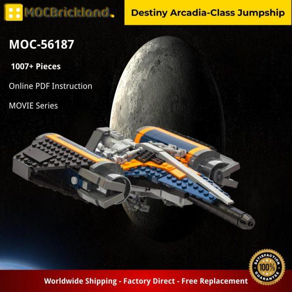 Destiny Arcadia-Class Jumpship MOVIE MOC-56187 WITH 1007 PIECES