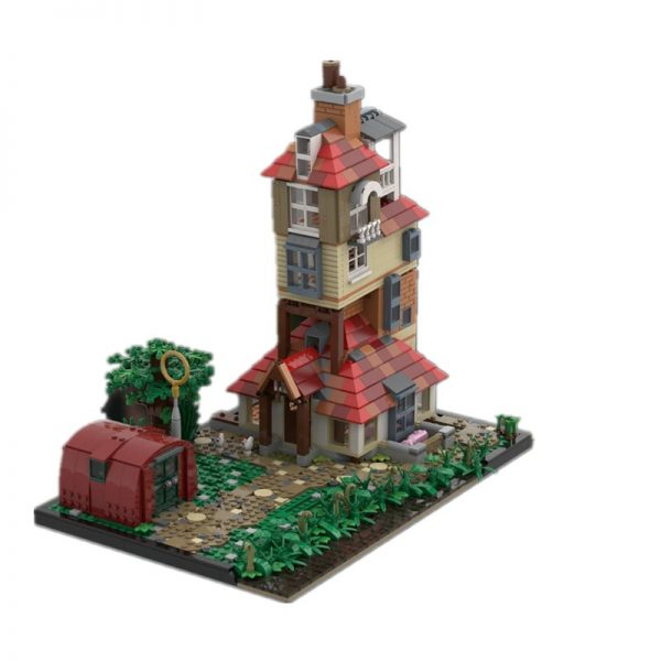 The Burrow Scenery (HP2) MOVIE MOC-85308 by JL.Bricks with 708 pieces