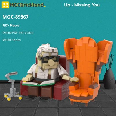 Up – Missing You MOVIE MOC-89867 WITH 757 PIECES