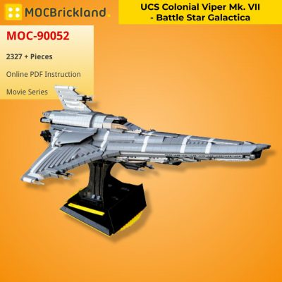 UCS Colonial Viper Mk. VII – Battle Star Galactica MOVIE MOC-90052 WITH 2327 PIECES
