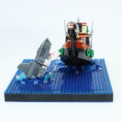 Jaws – Shark Attack Ship MOVIE MOC-90064 WITH 794 PIECES