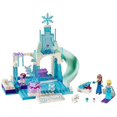 Anna and Elsa's Frozen Playground Compatible MOC 10736 Movie SX 3015 with 188 pieces
