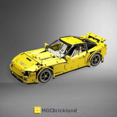 MOC 0033 Sunbeam Corvette Supercar by JurgenKrooshoop with 2168 pieces