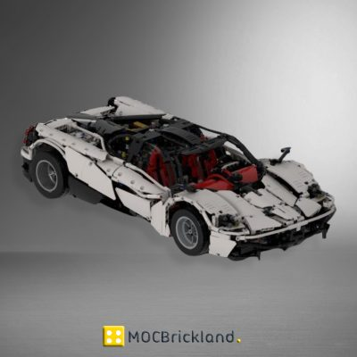 MOC 31944 Pagani Huayra by Joebot360 with 3294 pieces