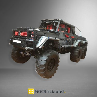 MOC 27039 Mercedes Benz G-class 6x6 by OleJka with 2832 pieces