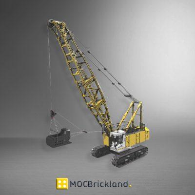 MOC 17193 Dragline Excavator by Ivan M with 2378 pieces