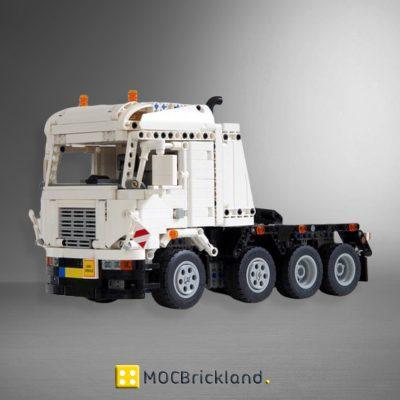 MOC 17197 8x4 Heavy duty truck Remote Control by Ivan M