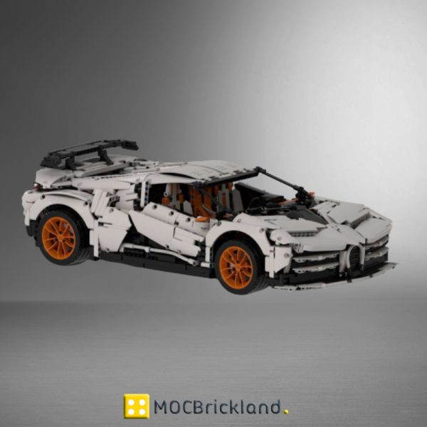 Bugatti EB 110 Centodieci Hommage MOC 34933 Technic Designed By The one from the Swabian Produced By MOC BRICK LAND