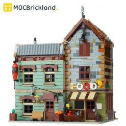 Modular Bait Shop And Grocery MOC 40048 Modular Building Compatible LEGO 21310 Designed By Versteinert