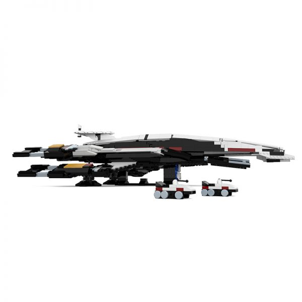 Mass Effect Normandy SR-1 SPACE MOC-21578 by ElijahLittle WITH 1884 PIECES