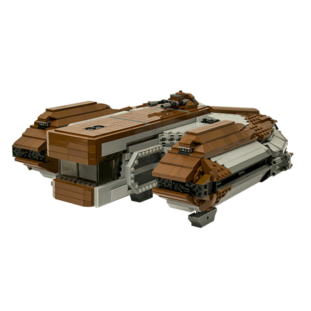 Knights of the Old Republic Ebon Hawk STAR WARS MOC-16083 WITH 3173 PIECES