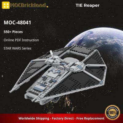 TIE Reaper STAR WARS MOC-48041 by JaydenIrwin WITH 550 PIECES