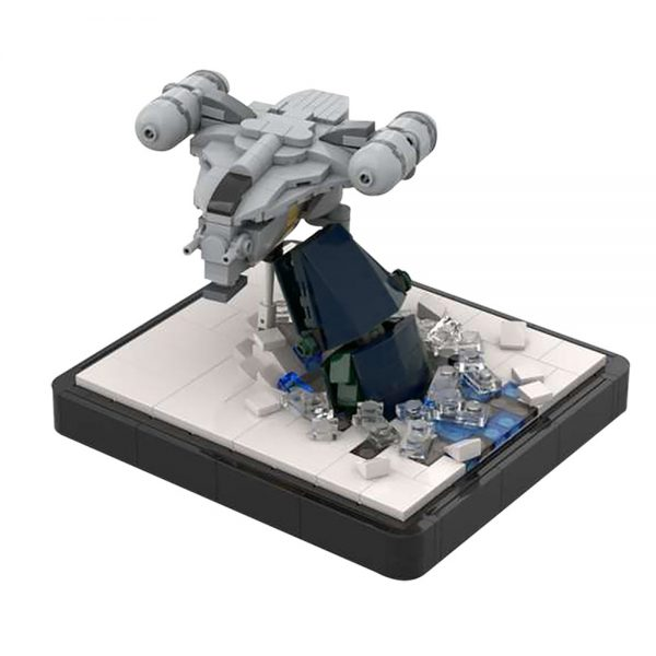 Razor Crest Attack Micro – The Mandalorian STAR WARS MOC-48067 WITH 395 PIECES
