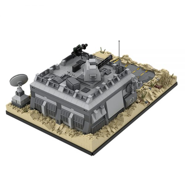 Base (Outpost) on Tatooine STAR WARS MOC-50143 WITH 2643 PIECES