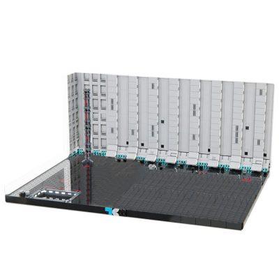 Death Star II Hangar Bay 272 Diorama STAR WARS MOC-51350 WITH 272 PIECES