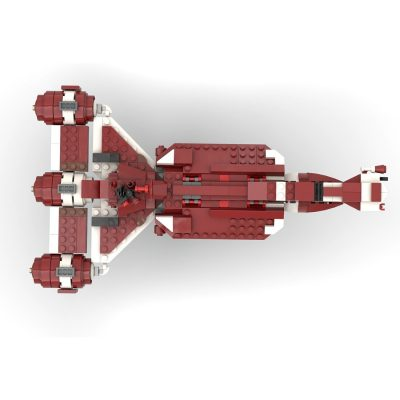 Consular Class Cruiser (Micro Fleet Scale) STAR WARS MOC-53149 by 2bricksofficial WITH 439 PIECES