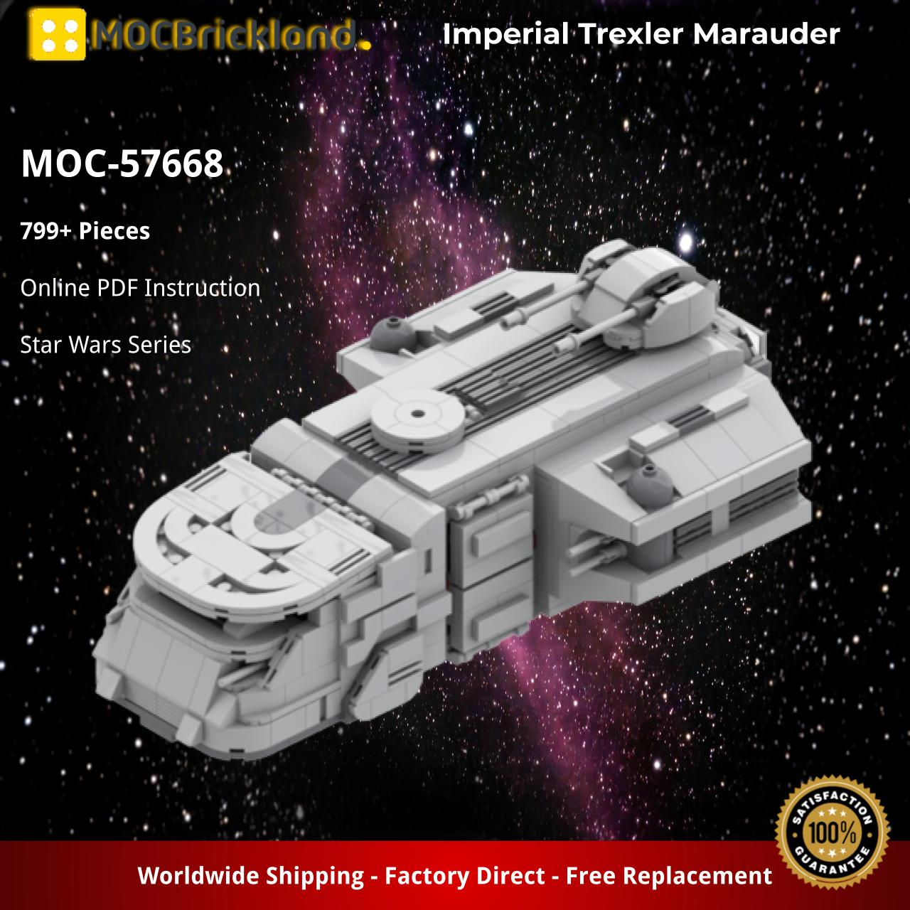 Imperial Trexler Marauder STAR WARS MOC-57668 by Papaglop WITH 799 PIECES