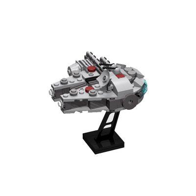 Mini Millennium Falcon STAR WARS MOC-6071 WITH 122 PIECES