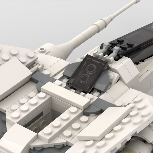 Vector Starfighter High Republic Minifigure Scale STAR WARS MOC-64637 by 2bricksofficial WITH 374 PIECES