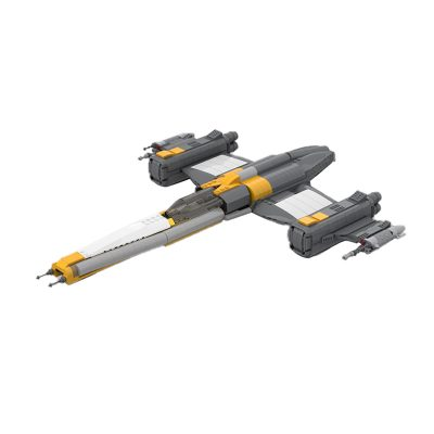 Riot Mar Starfighter STAR WARS MOC-79493 by Eventus_Engineering_System WITH 954 PIECES