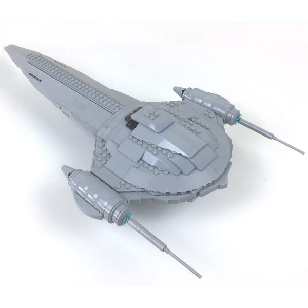 Nubian Royal Starship Ultimate Playset! STAR WARS MOC-80759 by 2bricksofficial WITH 848 PIECES
