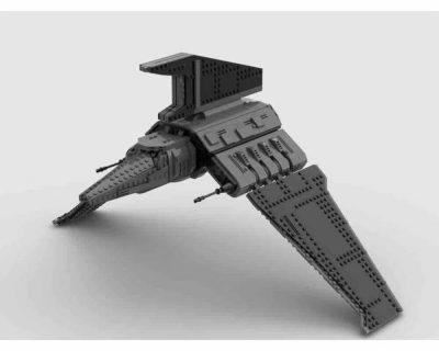 Bad Batch Shuttle Havoc Marauder STAR WARS MOC-84827 with 1586 pieces