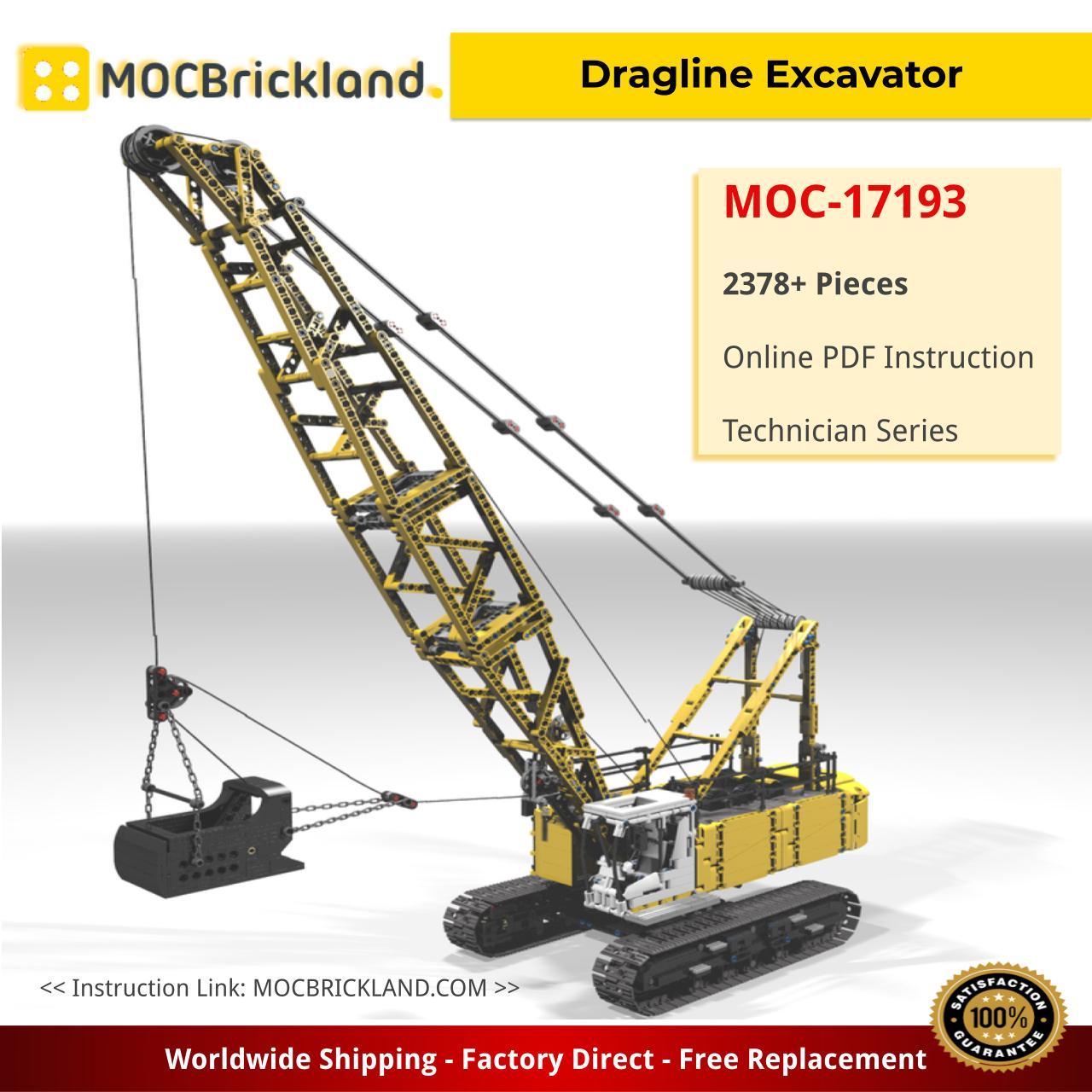 Dragline Excavator Technic MOC-17193 by Ivan_M with 2378 Pieces