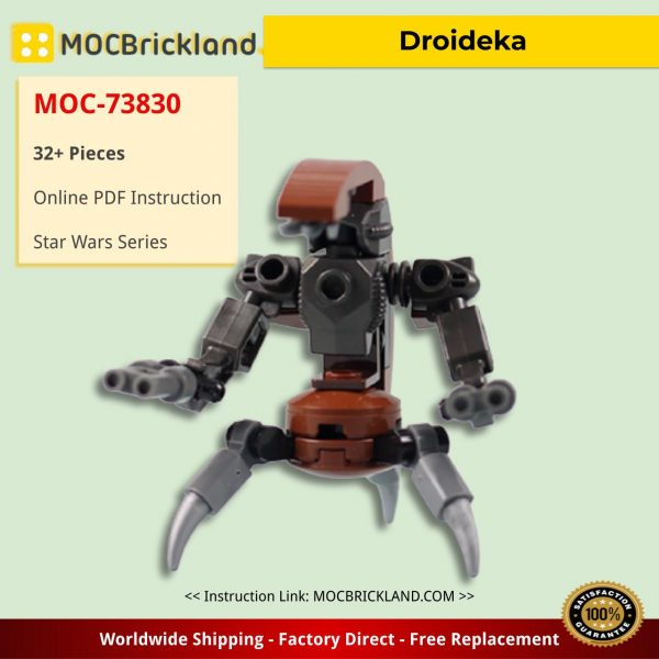 Droideka Star Wars MOC-73830 by MartinLegoDesign WITH 32 PIECES