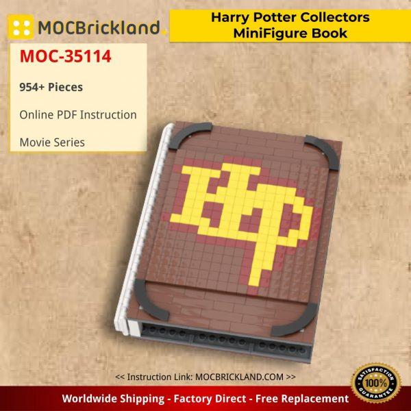 Harry Potter Collectors MiniFigure Book Movie MOC-35114 by gabizon WITH 954 PIECES