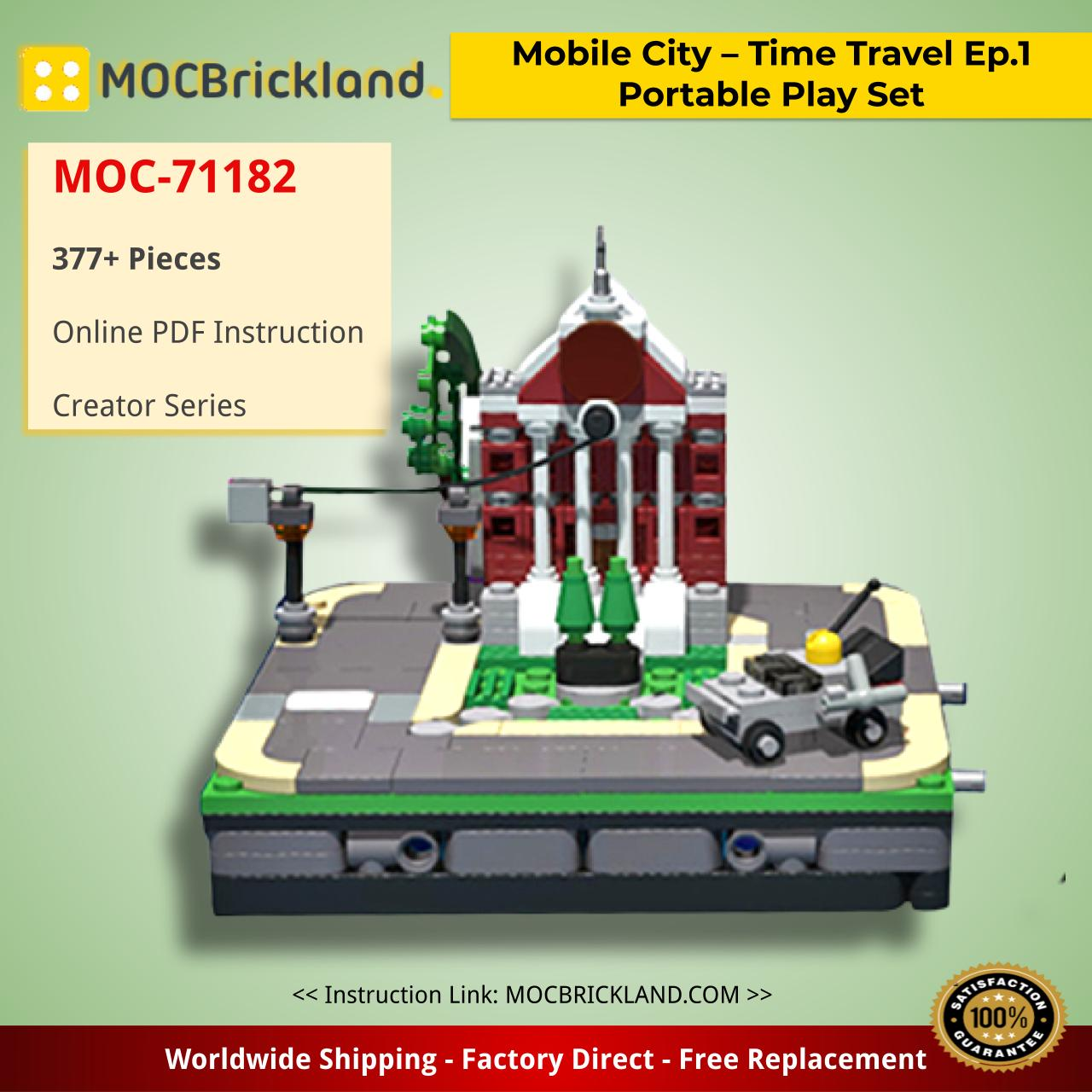 Mobile City – Time Travel Ep.1 Portable Play Set Creator MOC-71182 by DoubleBU WITH 377 PIECES